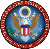 united states district court eastern district of california bar badge